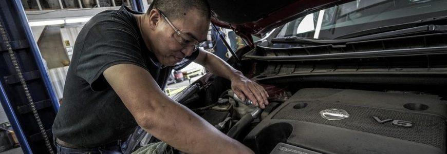 Bilservice – verkningsområden
